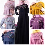 мусульманские платья хиджабы выбор